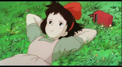 Kiki-Lying-On-Grass